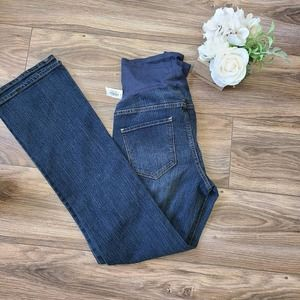 Old Navy Bootcut Full Maternity Jeans 2